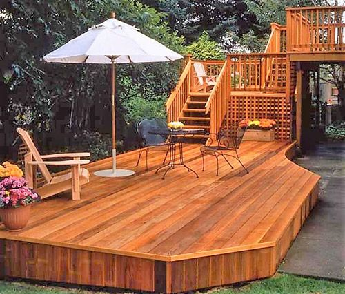 Cedar Wood Patio